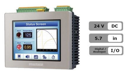 2711P-T6C20D8 | Allen Bradley 2711P Series Touch Screen HMI