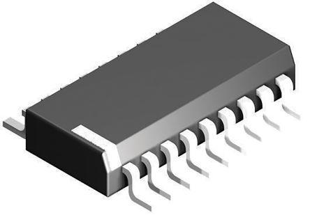 Toshiba Układ przełącznika zasilania, TBD62083A, 0.1 ON mA, 1 OFF μA, 0,6 V wyłączony, 25 V włączony 40, TBD62083AFGZ
