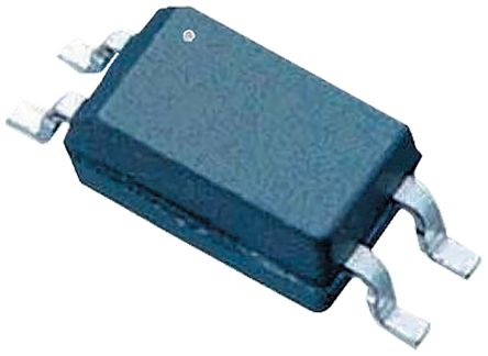 Toshiba, TLP293GR-TPL,ET DC Input Phototransistor Output Optocoupler, Surface Mount, 4-Pin SO4 2500