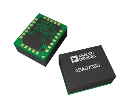 Analog Devices ADAQ7980BCCZ Data Acquisition Circuit, 16 bit, 24-Pin LGA