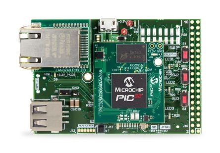 Microchip Embedded Graphics Starter Kit with PIC32MZ - DM320008-C