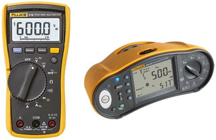 Fluke 1664 FC Multifunction Tester with 115 Digital Multimeter