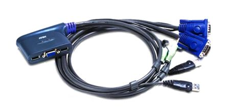 CS62U 2 Port USB KVM Switch + Speaker