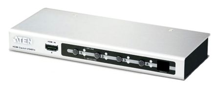 VS481A 4 port HDMI Switch with Remote