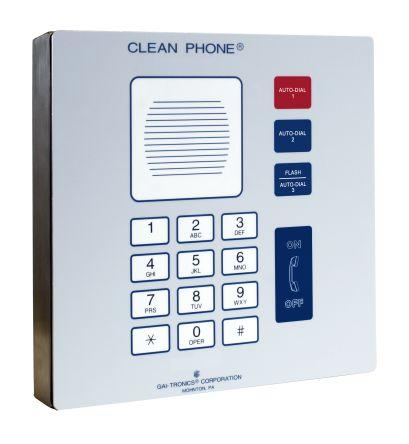 Clean Phone (VoIP) white, 14 button