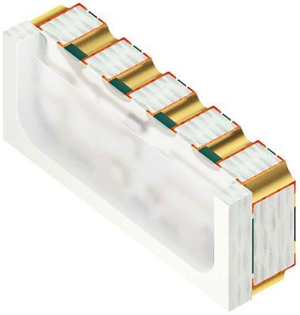 2.1 V, 2.9 V, 3.2 V RGB LED SMD,Osram Opto Micro SIDELED M4518 KRBT QDLP61.3A