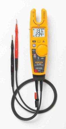 Fluke T6-1000 Handheld Electrical Tester, 200A ac 1000V ac 1000V dc