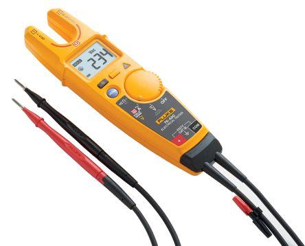 Fluke T6-600 Handheld Electrical Tester, 200A ac 600V ac 600V dc