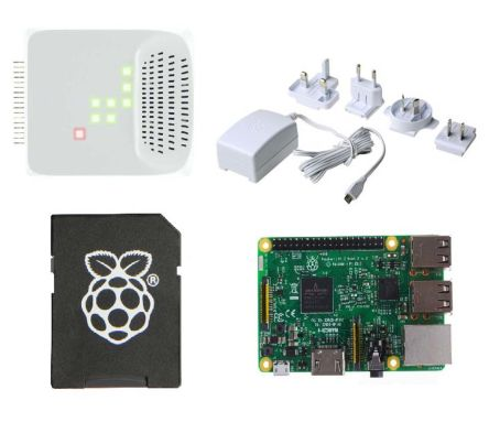 Raspberry Pi 3 and Pulse kit