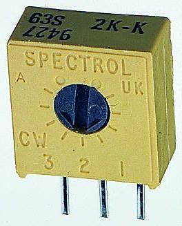 1K M63M102KB30T607 Vishay Spectrol Trimmer