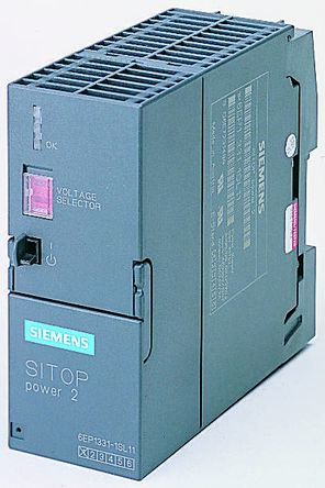 Siemens DIN Rail Panel Mount Power Supply, , 5A Output Current