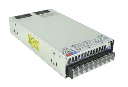 RS Pro 630W 1 Output Embedded Switch Mode Power Supply SMPS, 17 5A, 36V dc  Enclosed