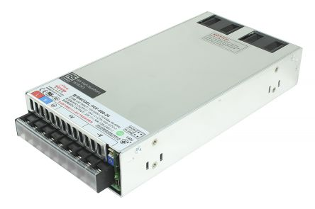 RS Pro 799W 1 Output Embedded Switch Mode Power Supply SMPS, 27A, 24V dc  Enclosed