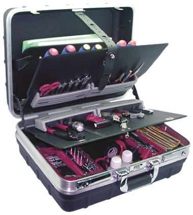 103 Piece Electricians Tool Kit product photo