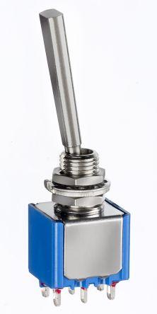 serie 5000 Spdt ON-OFF-ON Interruttore non illuminato PANNELLO 6 a