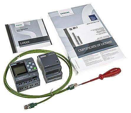 Siemens LOGO! 8.2 Starter Kit, 12 → 24 V dc