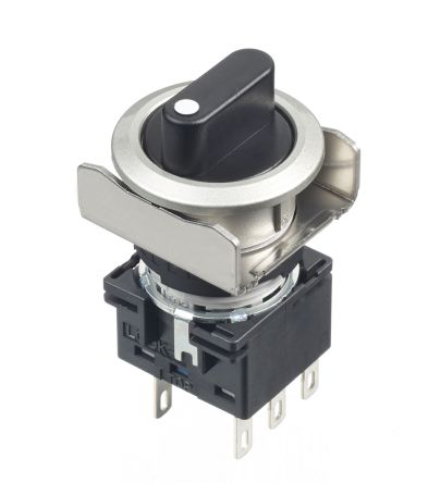 Black Round Push Button Switch