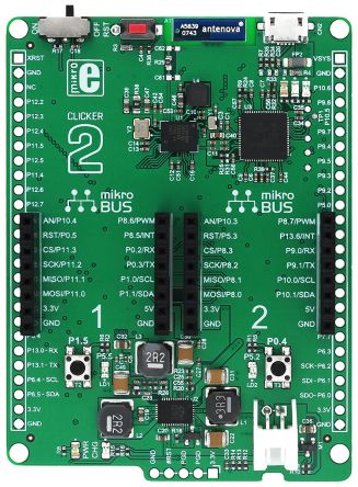Clicker 2 PSoC6 Dev Board with mikroBUS