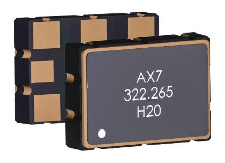 Abracon, 148.5MHz XO Oscillator, ±25ppm LVDS 6-SMD Compatible AX7DBF3-148.5000C