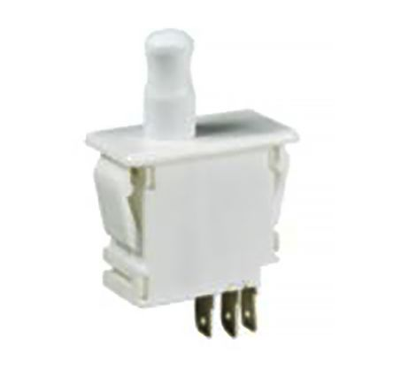 Double Pole Double Throw (DPDT) Door Interlock Push Button Switch, 10 (125/250 V ac) A product photo