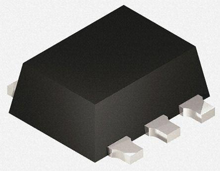 Toshiba TC7SZ17FE Non-Inverting Schmitt Trigger CMOS Schmitt Buffer, 5-Pin SOT-553 4000