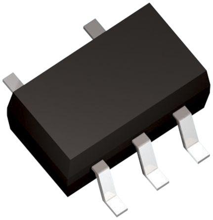 Toshiba Falownik, 1-kanałów, Przetwornica, wyj: Otwarte odprowadzanie, 5-pin SOT-25 100, TC7SZ05FU,LJCT