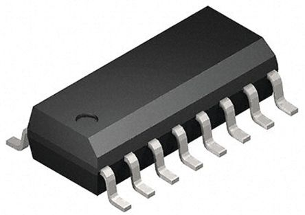 Toshiba 74HC595D Shift Register/Latch, Serial to Parallel, , Uni-Directional, 16-Pin SOIC
