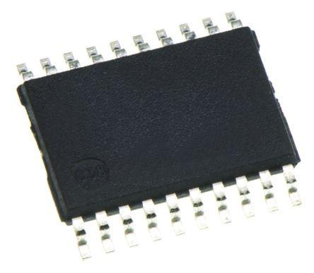 Toshiba 74LCX244FT, Octal Bus Buffer, 25 ns @ 50 pF 24mA, 20-Pin TSSOP, 6.5mm