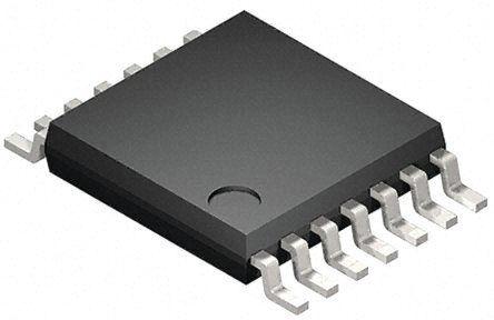 Toshiba Puerta lógica: Puerta lógica, 74VHC00FT, 74VHC, Búfer, CMOS Quad 8mA TSSOP 14 pines 2500