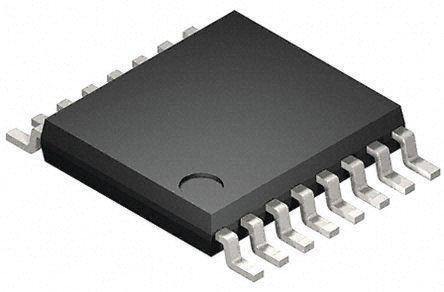 Toshiba Multiplekser 74VHC153FT -0,5 → 7 V 16-Pin TSSOP 4 2500