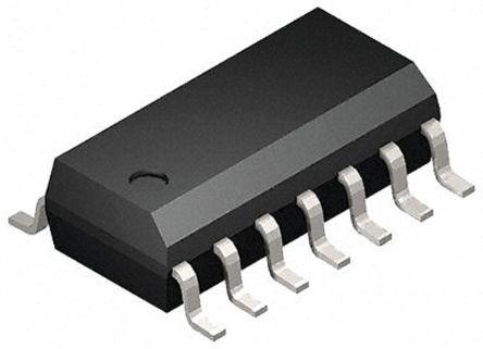 Toshiba Puerta lógica: Puerta lógica, 74HC132D, 74HC, CMOS, LSTTL Quad 5.2mA SOIC 14 pines 2500