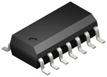 Toshiba 74HC14D, Hex Schmitt Trigger, LSTTL CMOS Inverter, 14-Pin SOIC 2500