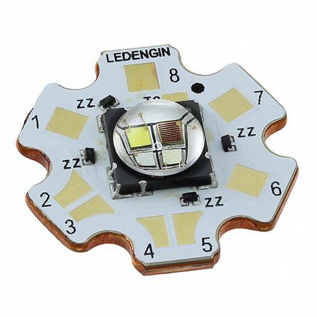 LedEngin Inc LZ4-V0MD0C-0000, LZ Circular LED Array, 4 Blue, Green, Red, White LED (6500K)