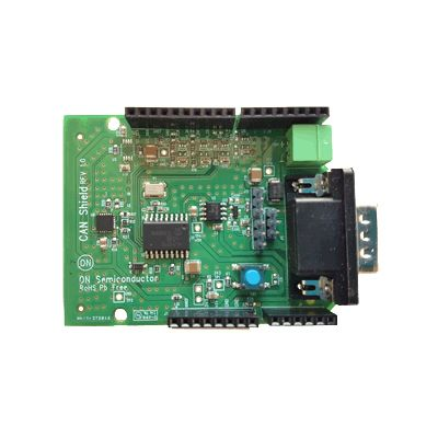 ON Semiconductor, CAN (Controller Area Network) Driver Shield Evaluation Board CAN, I2C, IoT Evaluation Board - CAN-GEVB