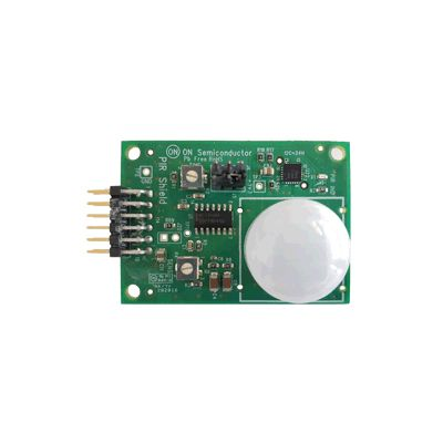 ON Semiconductor PIR-GEVB, PIR (Passive Infrared) Shield Evaluation Board Evaluation Board for NCS36000DG,