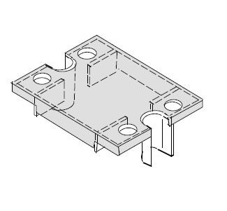 Relay Cover for use with SC Series (except SCB and 125A rating SC)