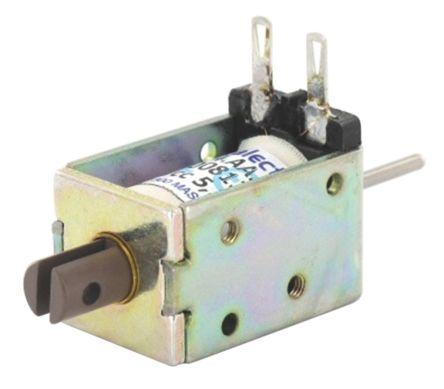 Push Action DC D-Frame Solenoid, 4mm stroke, 5.3W,