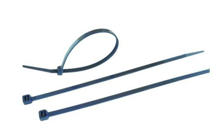 RS PRO Blue Nylon Cable Tie, 400mm x 4.6 mm