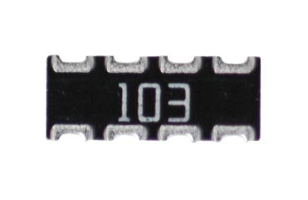 Resistor Networks /& Arrays 820ohm 5/% Convex 4resistors 50 pieces