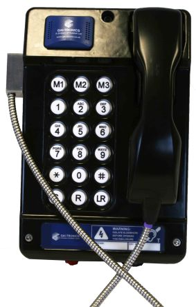 Gai-Tronics 18 Button ATEX, IECEx Rugged Phone