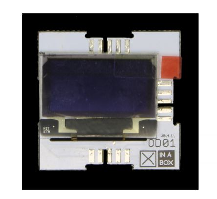 XinaBox OD01, OLED Display 128x64 OLED Display Module, OLED Display With SSD1306