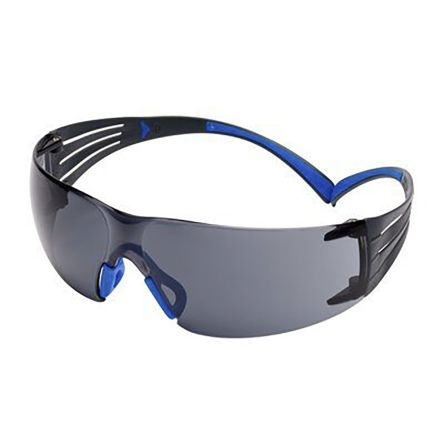 Safety Glasses Blue/Grey frame Anti-Fog