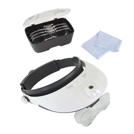LED Headband Magnifier Kit