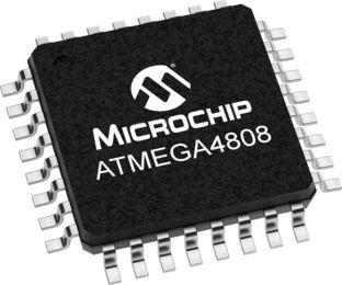 Microchip Technology ATmega4808-AFR, 8bit Microcontroller, 20MHz, 48 kB Flash, 32-Pin TQFP