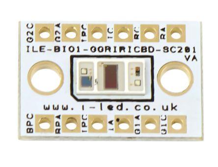 Intelligent LED Solutions ILE-BI01-GGRIRICBD-SC 201  BIOFY Sensor Version  1 0 PPG Signal PPG Signal Sensor for SFH 7072
