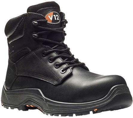 08508490667 V12 Footwear Rhino Composite Toe Safety Shoes, UK 6 Anti-Slip Anti-Static