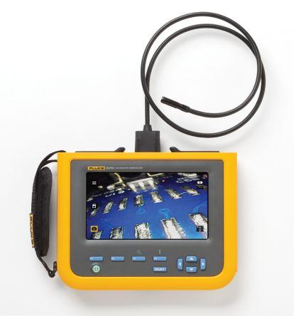 Fluke 8.5mm probe Inspection Camera, 1.2m Probe Length, 800 x 600 pixels Resolution, LED Illumination