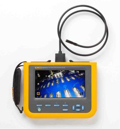 Fluke 8.5mm probe Videoscope, 1.2m Probe Length, 1200 x 720 pixels Resolution, LED Illumination