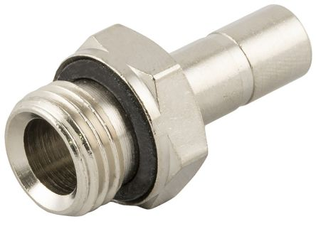 RS PRO Bulkhead Connector, Push In 12 mm BSPPx12mm