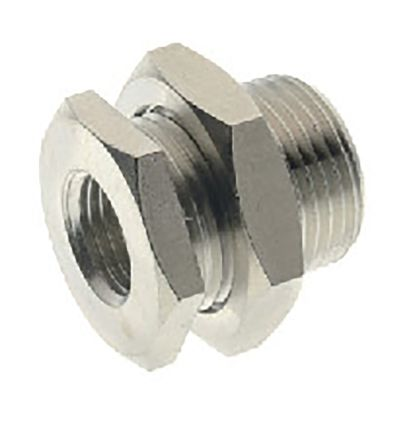 RS PRO Pneumatic Bulkhead Threaded Adapter